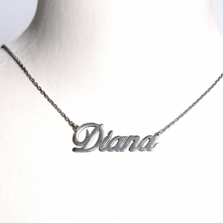 Lant cu nume Diana 159 lei
